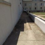 Commercial Concrete Washing Before