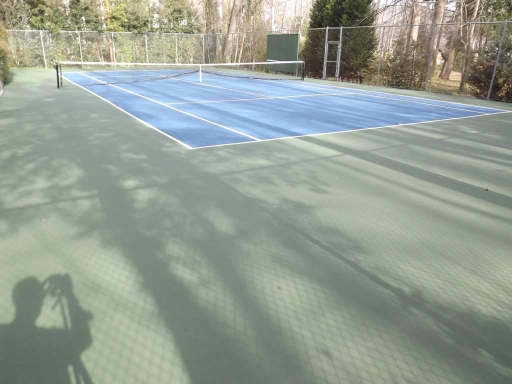 Tennis Court Cleaning In Greenville Amp Greer Sc