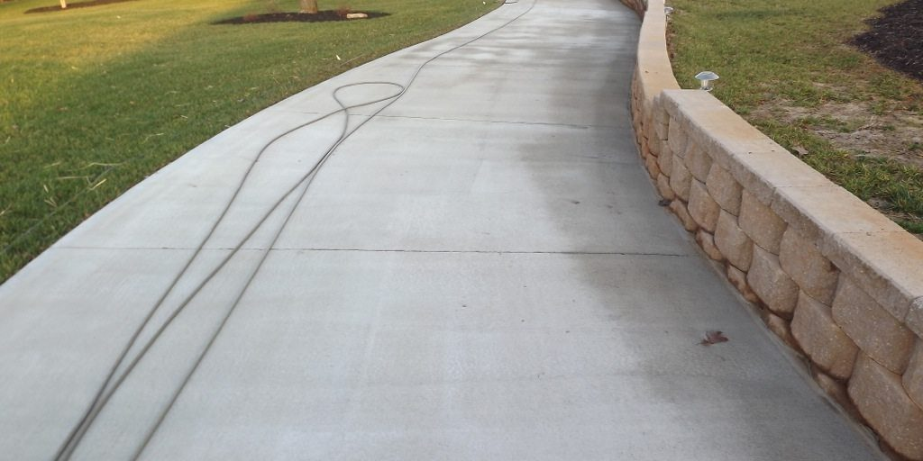 Concrete Cleaning After